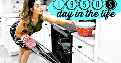 Cleaning House 1950s-Style
