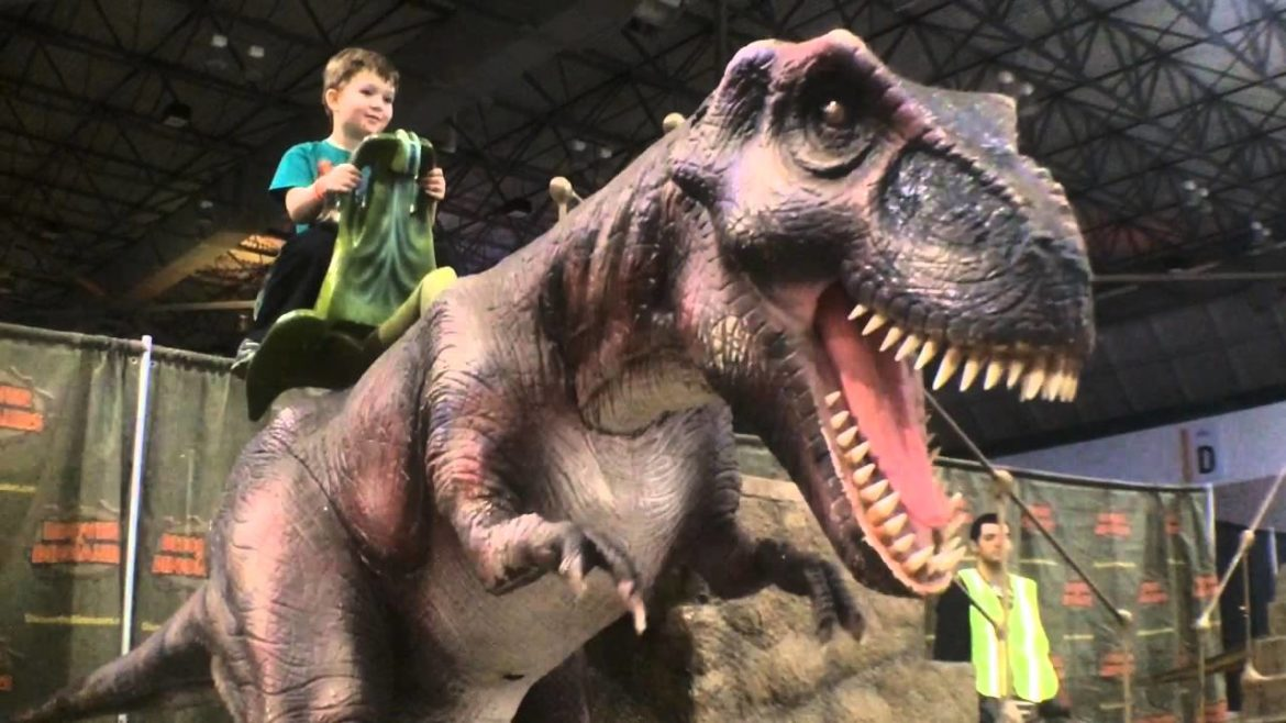 A Review of the Discover the Dinosaurs exhibit (currently touring the US)
