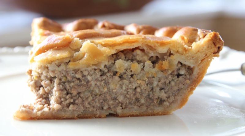 Vintage French Meat Pie