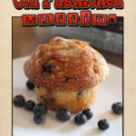 Old Fashioned Blueberry Muffin Recipe