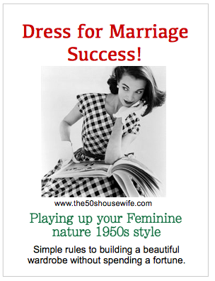 Dress for Marriage Success. Play up Your Feminine Nature.