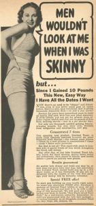 How to Look Like a 1950s Hour Glass Shaped Model–the 1950s Diet