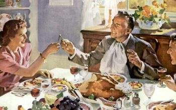 How To Throw a Thanksgiving in 1950s Style