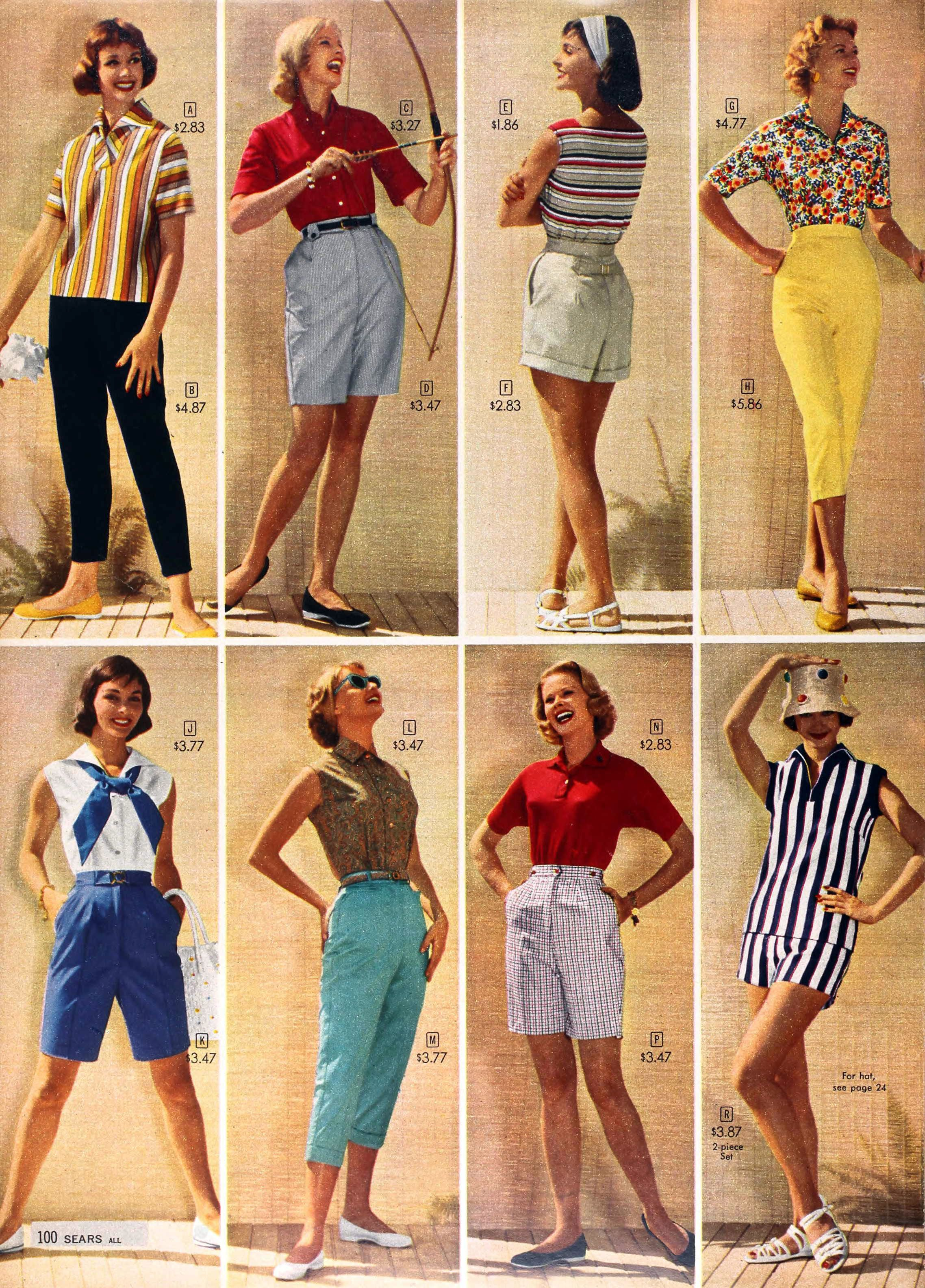 Women's Fashion in 1950s