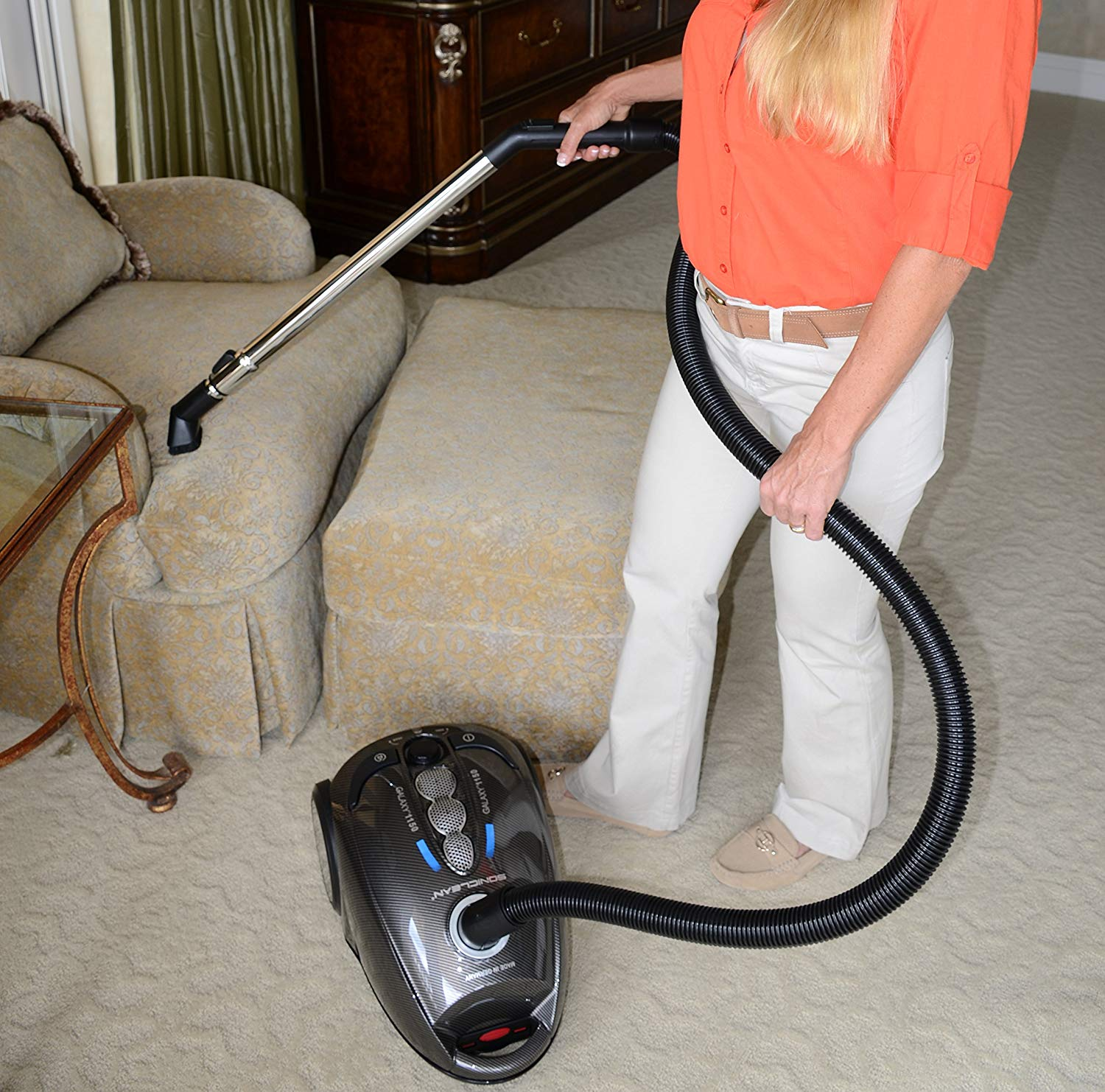 Soniclean Galaxy 1150 Canister Vacuum